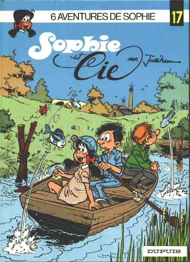 Couverture de Sophie (Jidéhem) -17- Sophie et Cie