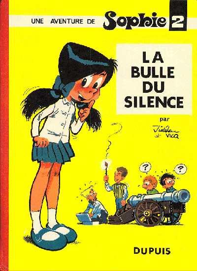 Couverture de Sophie (Jidéhem) -2- La bulle du silence