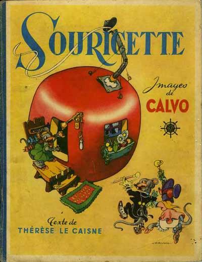 Couverture de (AUT) Calvo - Souricette