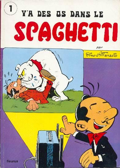 Couverture de Spaghetti -161- Y'a des os dans le spaghetti
