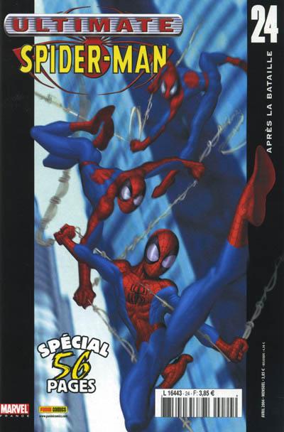 Couverture de Ultimate Spider-Man (1re série) -24- Après la bataille
