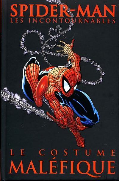 Couverture de Spider-Man (Les incontournables) -1- Le Costume Maléfique