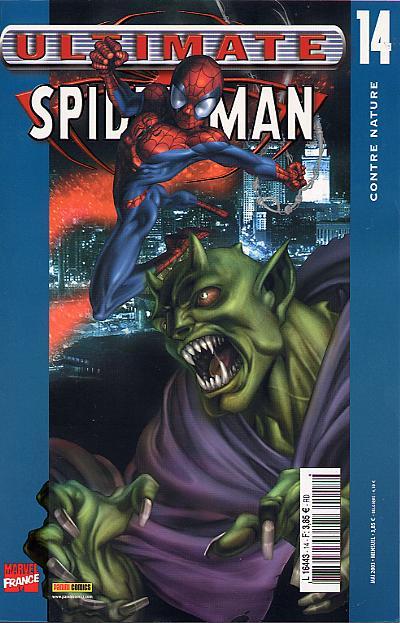 Couverture de Ultimate Spider-Man (1re série) -14- Contre nature