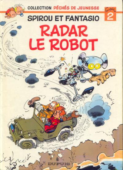 Couverture de Spirou et Fantasio -HS02- Radar le robot