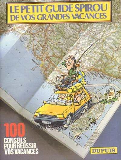 Couverture de Spirou et Fantasio -2- (Divers) -MR2567- Le Petit Guide Spirou de vos grandes vacances
