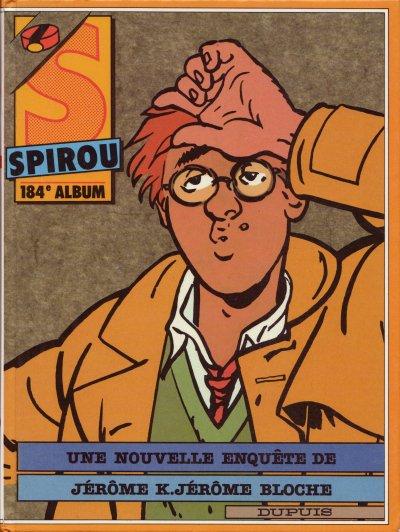 Couverture de (Recueil) Spirou (Album du journal) -184- Spirou album du journal
