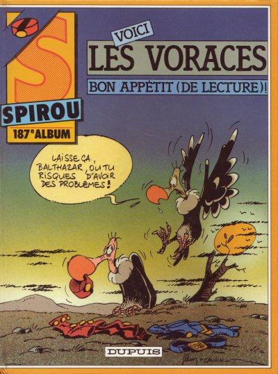 Couverture de (Recueil) Spirou (Album du journal) -187- Spirou album du journal