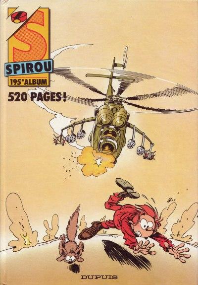 Couverture de (Recueil) Spirou (Album du journal) -195- Spirou album du journal
