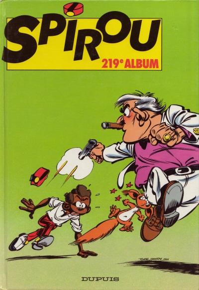 Couverture de (Recueil) Spirou (Album du journal) -219- Spirou album du journal