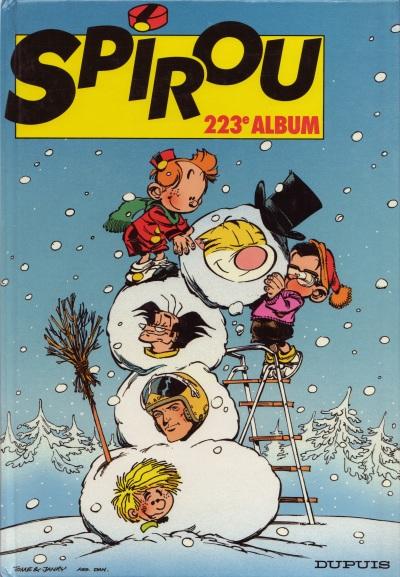 Couverture de (Recueil) Spirou (Album du journal) -223- Spirou album du journal
