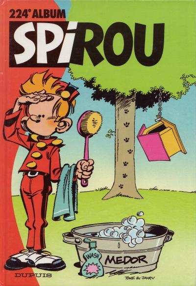 Couverture de (Recueil) Spirou (Album du journal) -224- Spirou album du journal