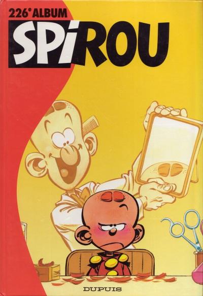 Couverture de (Recueil) Spirou (Album du journal) -226- Spirou album du journal