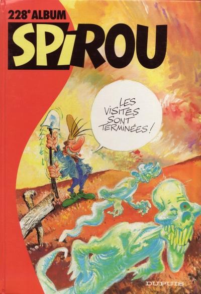 Couverture de (Recueil) Spirou (Album du journal) -228- Spirou album du journal