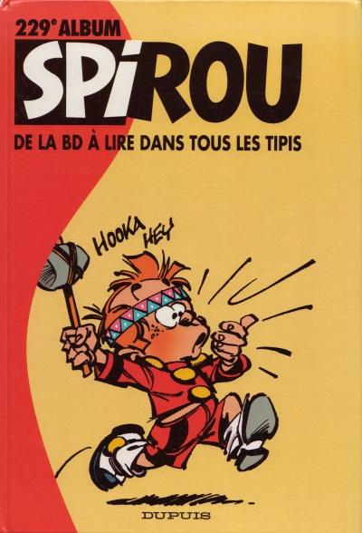 Couverture de (Recueil) Spirou (Album du journal) -229- Spirou album du journal