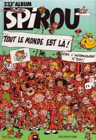 Couverture de (Recueil) Spirou (Album du journal) -233- Spirou album du journal