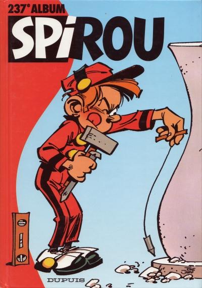Couverture de (Recueil) Spirou (Album du journal) -237- Spirou album du journal