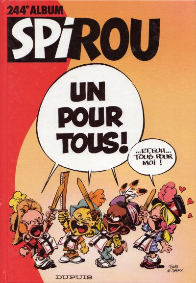 Couverture de (Recueil) Spirou (Album du journal) -244- Spirou album du journal