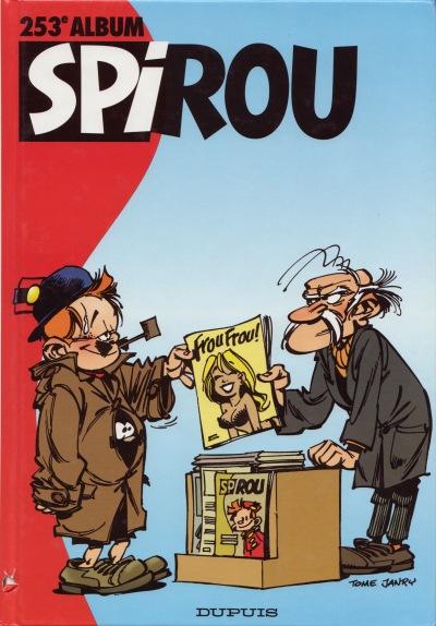 Couverture de (Recueil) Spirou (Album du journal) -253- Spirou album du journal