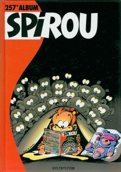Couverture de (Recueil) Spirou (Album du journal) -257- Spirou album du journal