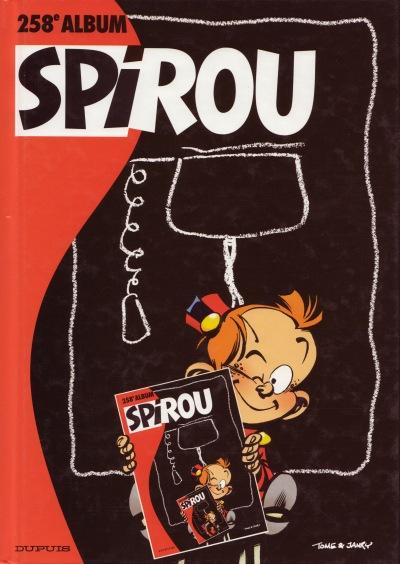 Couverture de (Recueil) Spirou (Album du journal) -258- Spirou album du journal