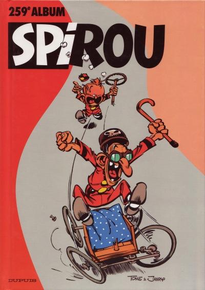 Couverture de (Recueil) Spirou (Album du journal) -259- Spirou album du journal