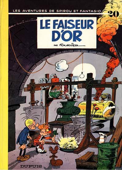 Couverture de Spirou et Fantasio -20- Le faiseur d'or