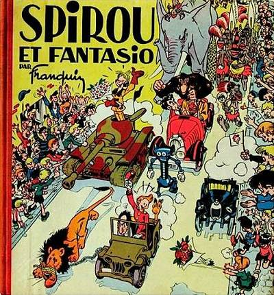 Couverture de Spirou et Fantasio - Tome PRE2