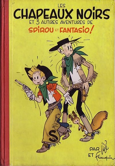 Couverture de Spirou et Fantasio -3- Les chapeaux noirs