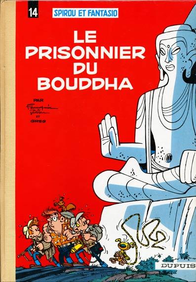 Couverture de Spirou et Fantasio -14- Le prisonnier du Bouddha