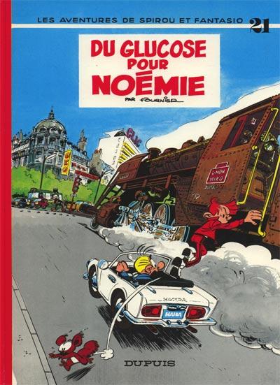 Couverture de Spirou et Fantasio -21- Du glucose pour Noémie