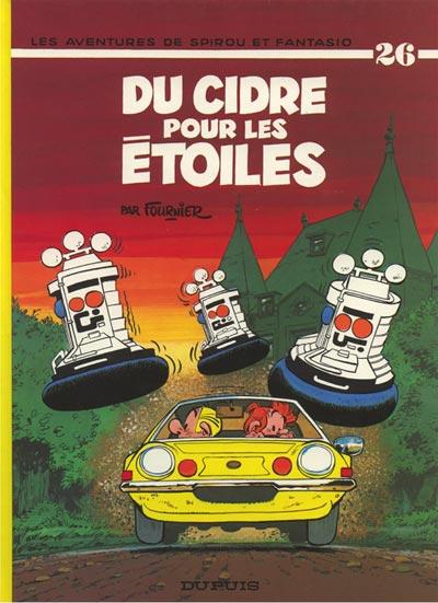 Couverture de Spirou et Fantasio -26- Du cidre pour les étoiles