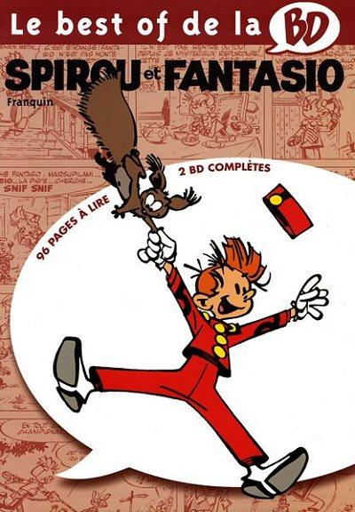 Couverture de Spirou et Fantasio -2- (Divers) -BOBD- Le best of de la BD - 10