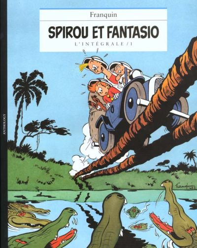 Couverture de Spirou et Fantasio -8- (Int. Niffle) -1- L'intégrale / 1
