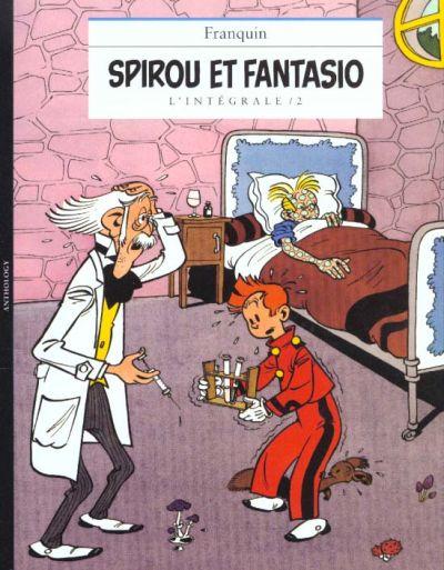 Couverture de Spirou et Fantasio -8- (Int. Niffle) -2- L'intégrale / 2