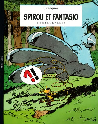 Couverture de Spirou et Fantasio -8- (Int. Niffle) -5- L'integrale / 5