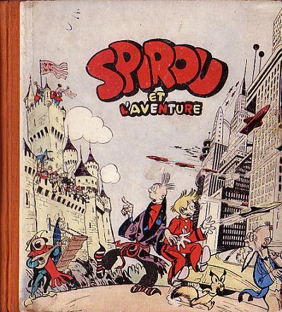 Couverture de Spirou et Fantasio -PRE1- Spirou et l'Aventure