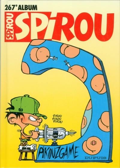 Couverture de (Recueil) Spirou (Album du journal) -267- Spirou album du journal