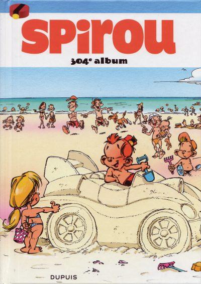 Couverture de (Recueil) Spirou (Album du journal) -304- Spirou album du journal