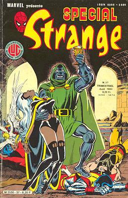 Couverture de Spécial Strange -37- Spécial Strange 37