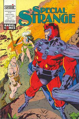 Couverture de Spécial Strange -81- Spécial Strange 81