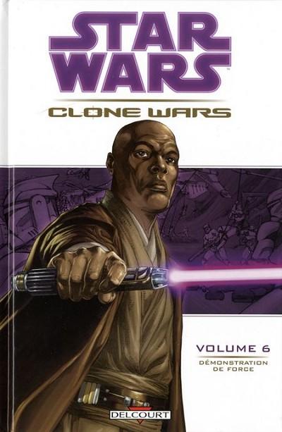 Couverture de Star Wars - Clone Wars -6- Démonstration de Force