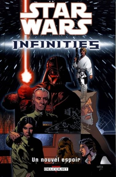 Couverture de Star Wars - Infinities -1- Un nouvel espoir