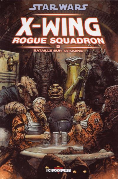 Couverture de Star Wars - X-Wing Rogue Squadron (Delcourt) -5- Bataille sur Tatooine