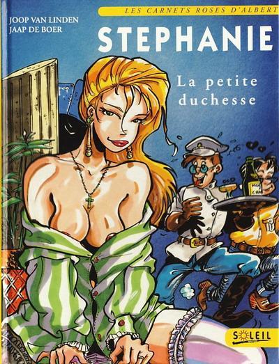 Couverture de Stéphanie, la petite duchesse - Tome 1
