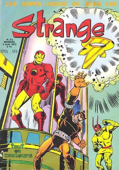 Couverture de Strange -32- Strange 32