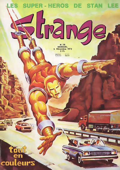 Couverture de Strange -36- Strange 36