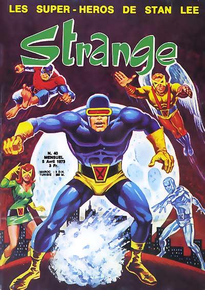 Couverture de Strange -40- Strange 40