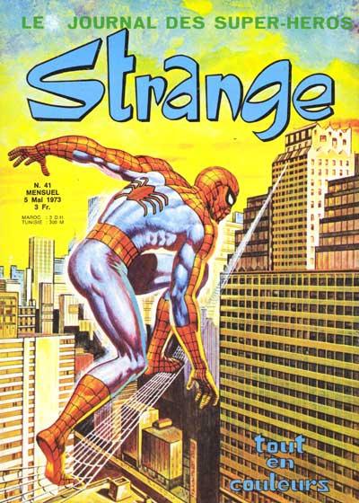Couverture de Strange -41- Strange 41