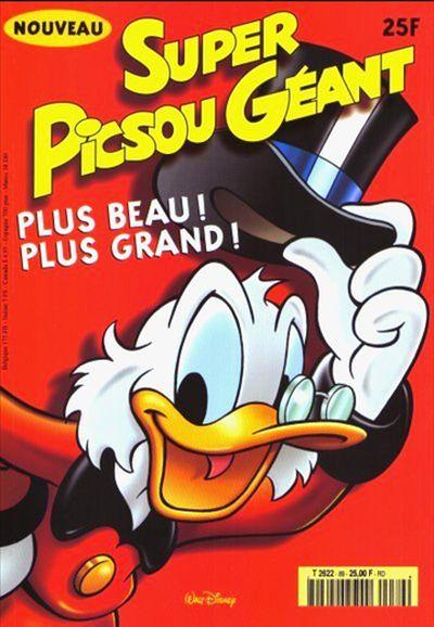 Couverture de Super Picsou Géant -89- Numéro 89