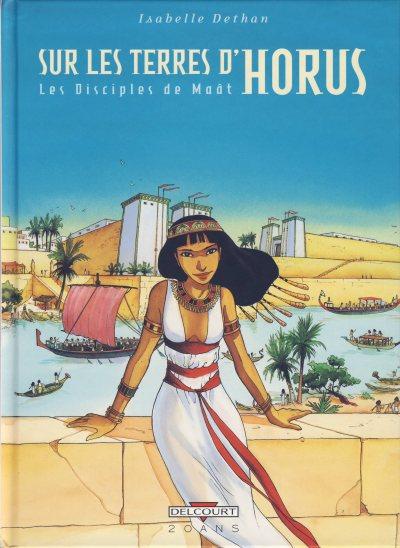 Couverture de Sur les terres d'Horus -INT1- Les Disciples de Maât